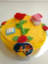 Beauty & the Beast Cake Class