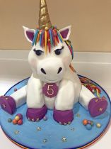 Unicorn Carved Cake Class