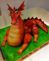 Red Dragon Cake (633)
