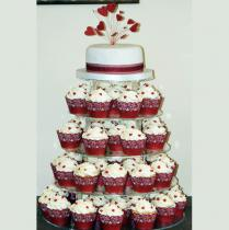 Red Heart Cup Cakes (077)