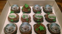 Children's Birthday Cup Cake Box