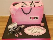 Shopping Bag Cake (641)