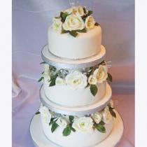 Three Tier Roses (095)