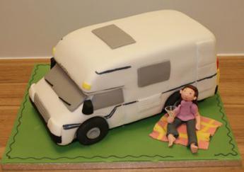 Camper Van Cake Sugar N Spice Cakes