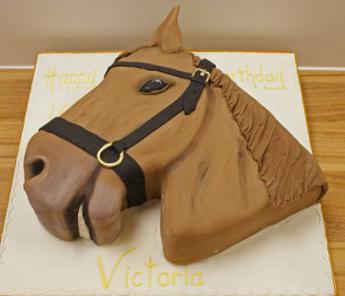 Horses Head Cake Sugar N Spice Cakes