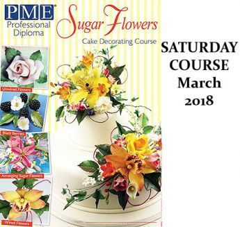 PME Sugar Flowers Module - Saturday Course