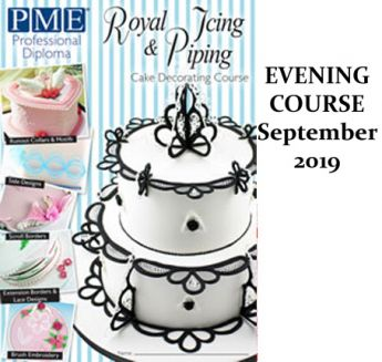 PME Royal Icing Module - Evening Course