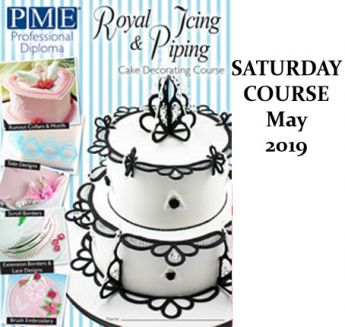 PME Royal Icing Module - Saturday Course