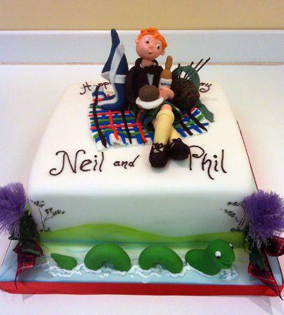 Cake Making Classes Scotland : Scottish Theme Sugar N Spice Cakes