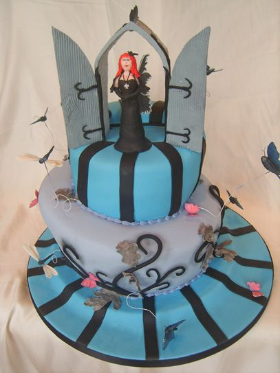 Gothic 18th Birthday Sugar N Spice Cakes