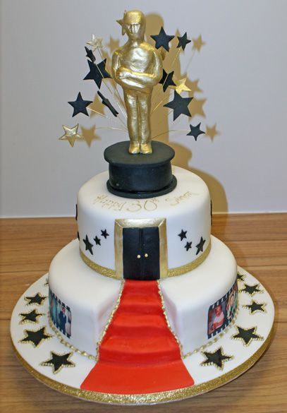 Hollywood Cake Decorations