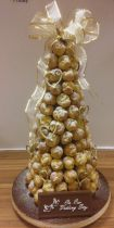 Croquembouche Wedding Cake (7262)