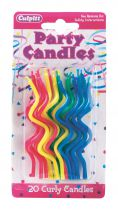 Primaries Curly Candles