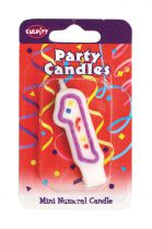 Mini Party Candle '1'