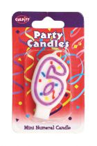 Mini Party Candle '6'