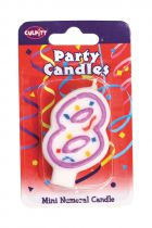Mini Party Candle '8'