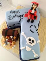 Number 7 Cake Pirate (543)
