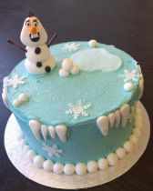 Frozen Cake Class for Children