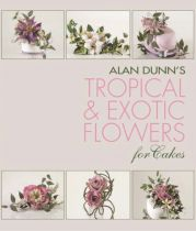 Tropical and Exotic Flowers for Cakes - Paperback