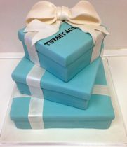 Tiffany Box Wedding Cake (7270)