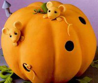 Pumpkin Cake class for children