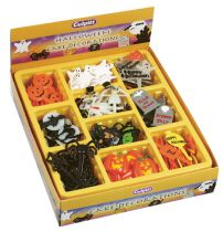 Assorted Halloween Cake Decorations - 206 pieces