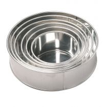 "Invicta Round Cake Tin 254mm (10"") - depth 89mm (3.5"")"