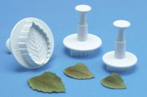 PME 40mm Veined Rose Leaf Plunger