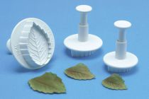 PME 25mm Veined Rose Leaf Plunger