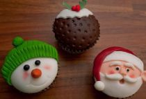 Christmas Cup Cake Class