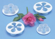 PME Five Petal Cutter 4 Set