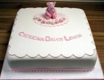 Pink Teddy Cake (172)