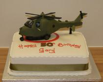 Helicopter Cake (601)