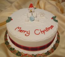 SPECIAL OFFER Christmas Cake - Snowman