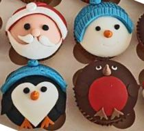 Christmas Cup Cakes Workshop - Children