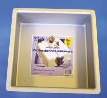 "PME Seamless Professional Bakeware - Square 203mm (8"")"