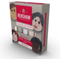Renshaw - Multipack - Natural Colours - 5 x 100g