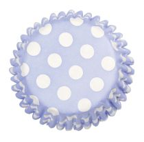 China Blue Spot Printed Baking Cases