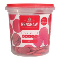 Renshaw Colour Melts - Red - 4 x 200g