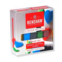 Renshaw - Multipack - Primary Colours - 5 x 100g