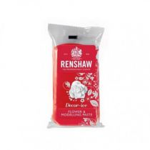 Renshaw Flower and Modelling Paste - Carnation Red - 250g