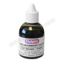 Edible Airbrush Colour Brown 60ml