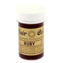 Sugarflair Paste Colours - Spectral Ruby - 25g