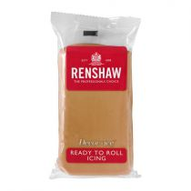Renshaw- Professional Sugar Paste - Teddy Brown - 20 x 250g