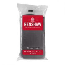 Renshaw- Professional Sugar Paste - Grey - 20 x 250g
