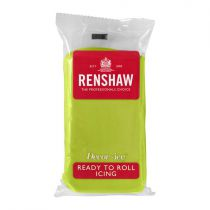 Renshaw- Professional Sugar Paste - Lime Green - 20 x 250g