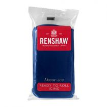 Renshaw- Professional Sugar Paste - Navy Blue - 20 x 250g