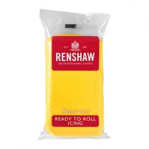 Renshaw- Professional Sugar Paste - Yellow - 20 x 500g