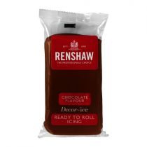 Renshaw Professional Sugar Paste - Chocolate - 20 x 500g
