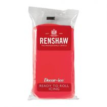 Renshaw Professional Sugar Paste - Poppy Red - 20 x 500g